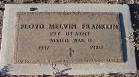 FRANKLIN, FLOYD MELVIN - Yavapai County, Arizona | FLOYD MELVIN FRANKLIN - Arizona Gravestone Photos