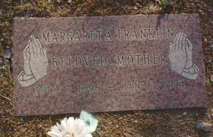 WREATH FRANKLIN, MARGARET ANN - Yavapai County, Arizona | MARGARET ANN WREATH FRANKLIN - Arizona Gravestone Photos