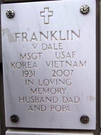 FRANKLIN, VERNON DALE - Yavapai County, Arizona | VERNON DALE FRANKLIN - Arizona Gravestone Photos