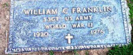 FRANKLIN, WILLIAM C. - Yavapai County, Arizona | WILLIAM C. FRANKLIN - Arizona Gravestone Photos