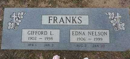 FRANKS, GIFFORD LLOYD - Yavapai County, Arizona   GIFFORD LLOYD FRANKS - Arizona Gravestone Photos