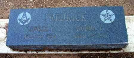 FREDRICK, CONRAD C. - Yavapai County, Arizona | CONRAD C. FREDRICK - Arizona Gravestone Photos