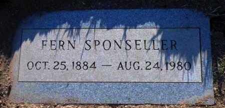 FREED SPONSELLER, FERN - Yavapai County, Arizona | FERN FREED SPONSELLER - Arizona Gravestone Photos