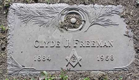 FREEMAN, CLYDE J. - Yavapai County, Arizona | CLYDE J. FREEMAN - Arizona Gravestone Photos