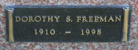 FREEMAN, DOROTHY S. - Yavapai County, Arizona | DOROTHY S. FREEMAN - Arizona Gravestone Photos