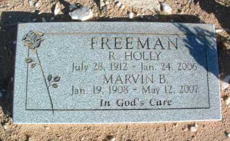 FREEMAN, MARVIN B. - Yavapai County, Arizona | MARVIN B. FREEMAN - Arizona Gravestone Photos