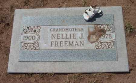 FREEMAN, NELLIE JANE - Yavapai County, Arizona | NELLIE JANE FREEMAN - Arizona Gravestone Photos