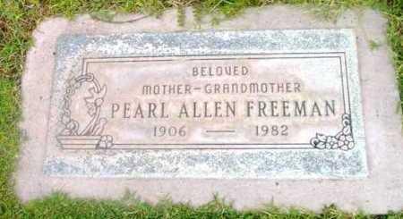 FREEMAN, PEARL - Yavapai County, Arizona | PEARL FREEMAN - Arizona Gravestone Photos