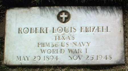 FRIZELL, ROBERT LOUIS - Yavapai County, Arizona   ROBERT LOUIS FRIZELL - Arizona Gravestone Photos