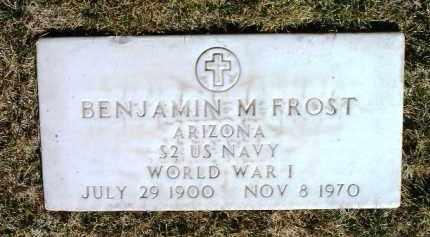 FROST, BENJAMIN M. - Yavapai County, Arizona | BENJAMIN M. FROST - Arizona Gravestone Photos