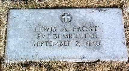FROST, LEWIS A. - Yavapai County, Arizona | LEWIS A. FROST - Arizona Gravestone Photos