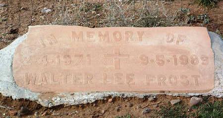 FROST, WALTER LEE - Yavapai County, Arizona   WALTER LEE FROST - Arizona Gravestone Photos