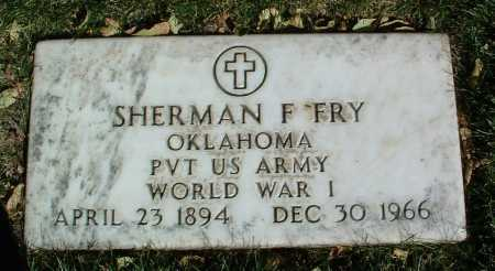 FRY, SHERMAN F. - Yavapai County, Arizona | SHERMAN F. FRY - Arizona Gravestone Photos
