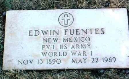 FUENTES, EDWIN - Yavapai County, Arizona | EDWIN FUENTES - Arizona Gravestone Photos