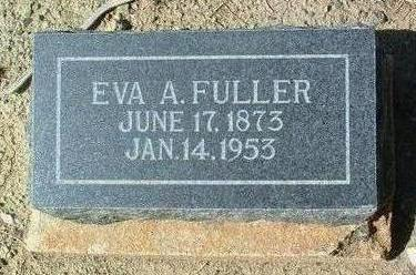 FULLER, EVA ALICE - Yavapai County, Arizona | EVA ALICE FULLER - Arizona Gravestone Photos