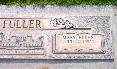 FULLER, MARY ELLEN - Yavapai County, Arizona   MARY ELLEN FULLER - Arizona Gravestone Photos