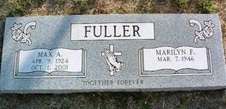 FULLER, MARILYN FRANCES - Yavapai County, Arizona   MARILYN FRANCES FULLER - Arizona Gravestone Photos