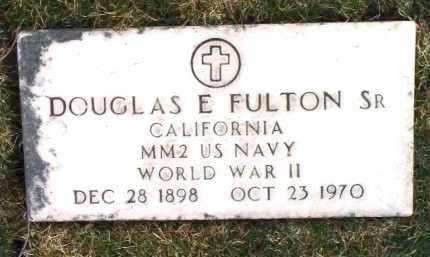 FULTON, DOUGLAS EUGENE - Yavapai County, Arizona | DOUGLAS EUGENE FULTON - Arizona Gravestone Photos