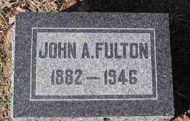 FULTON, JOHN A. - Yavapai County, Arizona | JOHN A. FULTON - Arizona Gravestone Photos