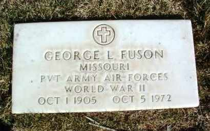 FUSON, GEORGE L. - Yavapai County, Arizona | GEORGE L. FUSON - Arizona Gravestone Photos