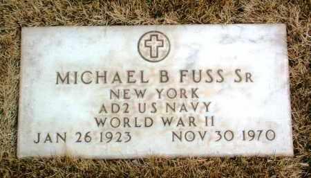 FUSS, MICHAEL BEROARD - Yavapai County, Arizona   MICHAEL BEROARD FUSS - Arizona Gravestone Photos