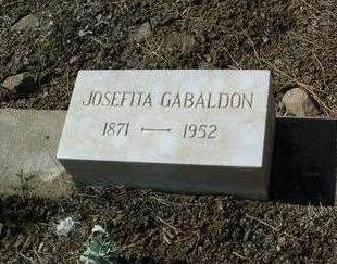 BACA GABALDON, JOSEFITA - Yavapai County, Arizona | JOSEFITA BACA GABALDON - Arizona Gravestone Photos