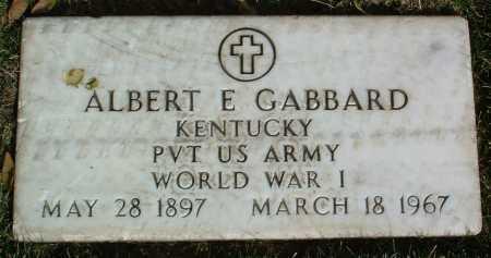 GABBARD, ALBERT E. - Yavapai County, Arizona | ALBERT E. GABBARD - Arizona Gravestone Photos