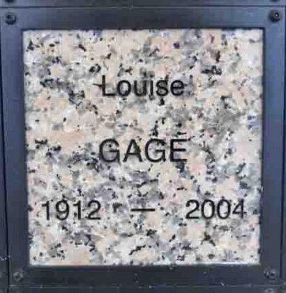 GAGE, LOUISE - Yavapai County, Arizona | LOUISE GAGE - Arizona Gravestone Photos