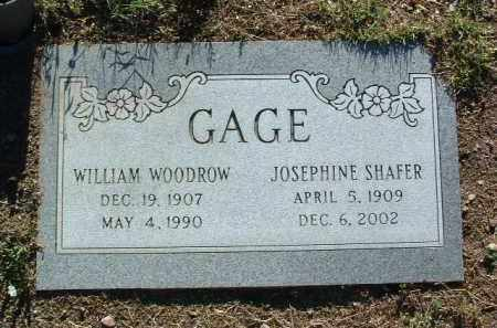 GAGE, WILLIAM WOODWARD - Yavapai County, Arizona | WILLIAM WOODWARD GAGE - Arizona Gravestone Photos