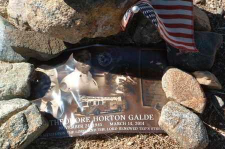 GALDE, THEODORE HORTON - Yavapai County, Arizona | THEODORE HORTON GALDE - Arizona Gravestone Photos