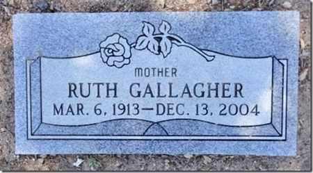 GALLAGHER, RUTH B. - Yavapai County, Arizona | RUTH B. GALLAGHER - Arizona Gravestone Photos