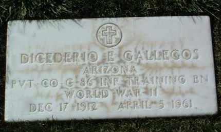 GALLEGOS, DICEDERIO E. - Yavapai County, Arizona | DICEDERIO E. GALLEGOS - Arizona Gravestone Photos