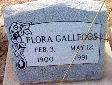 GALLEGOS, FLORA - Yavapai County, Arizona | FLORA GALLEGOS - Arizona Gravestone Photos
