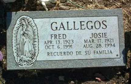 ESPITIA GALLEGOS, JOSIE - Yavapai County, Arizona | JOSIE ESPITIA GALLEGOS - Arizona Gravestone Photos
