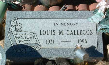 GALLEGOS, LOUIS M. - Yavapai County, Arizona | LOUIS M. GALLEGOS - Arizona Gravestone Photos