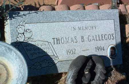GALLEGOS, THOMAS B. - Yavapai County, Arizona   THOMAS B. GALLEGOS - Arizona Gravestone Photos