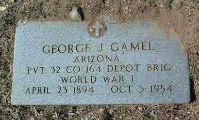 GAMEL, GEORGE JEFFRIES - Yavapai County, Arizona | GEORGE JEFFRIES GAMEL - Arizona Gravestone Photos