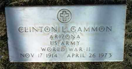 GAMMON, CLINTON L. - Yavapai County, Arizona | CLINTON L. GAMMON - Arizona Gravestone Photos