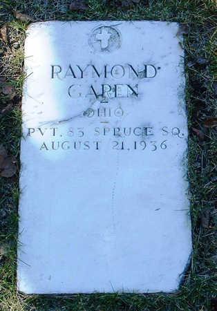 GAREN, RAYMOND ROBERT - Yavapai County, Arizona | RAYMOND ROBERT GAREN - Arizona Gravestone Photos