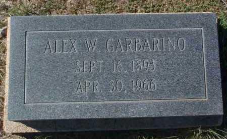GARBARINO, ALEXANDER W. - Yavapai County, Arizona   ALEXANDER W. GARBARINO - Arizona Gravestone Photos