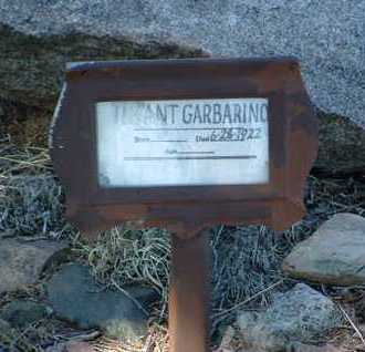 GARBARINO, INFANT - Yavapai County, Arizona   INFANT GARBARINO - Arizona Gravestone Photos