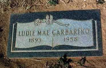 GARBARINO, LUDIE MAE - Yavapai County, Arizona | LUDIE MAE GARBARINO - Arizona Gravestone Photos