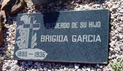 GARCIA, BRIGIDA - Yavapai County, Arizona   BRIGIDA GARCIA - Arizona Gravestone Photos