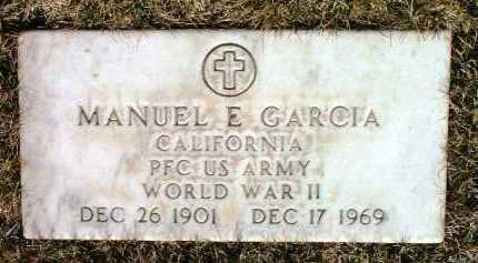 GARCIA, MANUEL E. - Yavapai County, Arizona | MANUEL E. GARCIA - Arizona Gravestone Photos