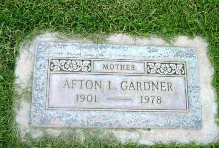 PORTER GARDNER, AFTON - Yavapai County, Arizona | AFTON PORTER GARDNER - Arizona Gravestone Photos