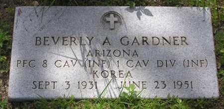 GARDNER, BEVERLY A. - Yavapai County, Arizona | BEVERLY A. GARDNER - Arizona Gravestone Photos