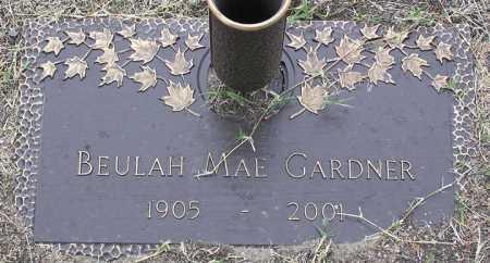 GARDNER, BEULAH MAE - Yavapai County, Arizona | BEULAH MAE GARDNER - Arizona Gravestone Photos