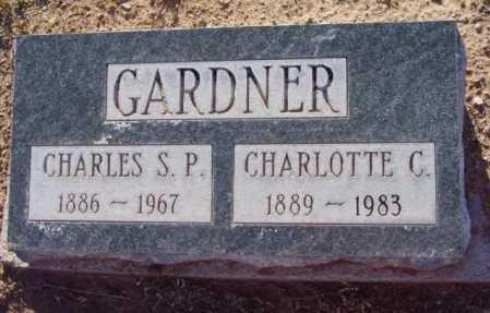 GARDNER, CHARLOTTE MAY - Yavapai County, Arizona   CHARLOTTE MAY GARDNER - Arizona Gravestone Photos