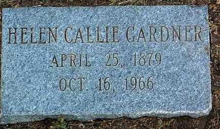 GARDNER, HELEN CALLIE - Yavapai County, Arizona | HELEN CALLIE GARDNER - Arizona Gravestone Photos