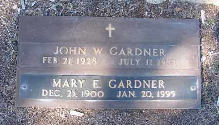 GARDNER, JOHN W. - Yavapai County, Arizona   JOHN W. GARDNER - Arizona Gravestone Photos